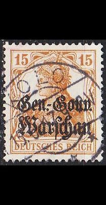 GERMANY REICH Besetzung [Polen] MiNr 0011 ( O/used ) [01]