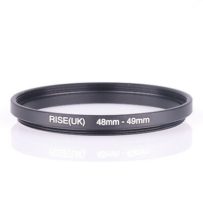 48mm to 49mm Camera Filter Lens 48mm-49mm Step Up Ring Adapter