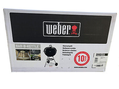 Weber One-Touch Classic Kettle 57 cm Freestanding Holzkohle Grill black 1341504