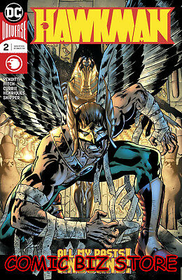 Hawkman #2 (2018) 1St Printing Dark Nights Metal Tie-In Dc Comic Universe