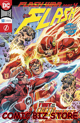 Flash #50 (2018) 1St Printing Dc Universe Bagged & Boarded