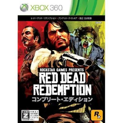 Used Xbox360 Red Dead Redemption: Complete Edition Japan Import