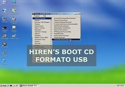 Hiren's Boot Cd En Formato Usb - Hirens Boot Usb