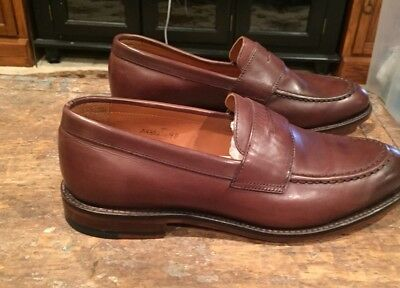 0a8fafe4d07 JCREW Ludlow Leather Penny Loafers Shoes in Cigar Brown Size 9D  298 a4362  NWOB