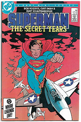 DC Copper Age : Superman - The secret years #1 (Frank Miller) Curt Swan (1985)