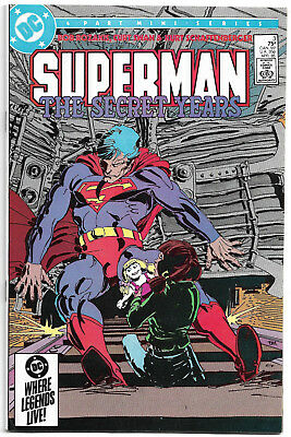 DC Copper Age : Superman - The secret years #3 (Frank Miller) Curt Swan (1985)