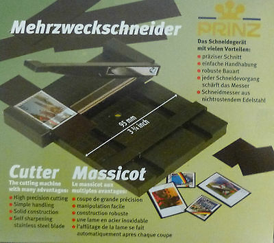 PRINZ STAMP MOUNT CUTTER & GUILLOTINE High Precision Stainless Steel Blade 7001