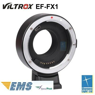 In-Stock Viltrox EF-FX1 Electronic Adapter for Canon Lens to Fuji X Mount Camera