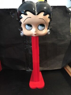 "Betty Boop 12"" Tall Giant Pez Dispenser W/ Box-Box Shows Wear!!"