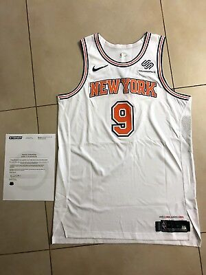c96a23d1334 Kyle O Quinn New York Knicks Game Used Worn Statement Nike Jersey Steiner  Sports