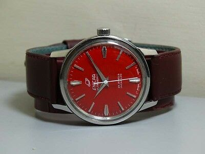 Superb Vintage Enicar WINDING Swiss Made MENS WRIST WATCH Old Used ANTIQUE E614