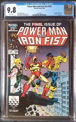 Power Man and Iron Fist (1972 Hero for Hire) #125  CGC 9.8