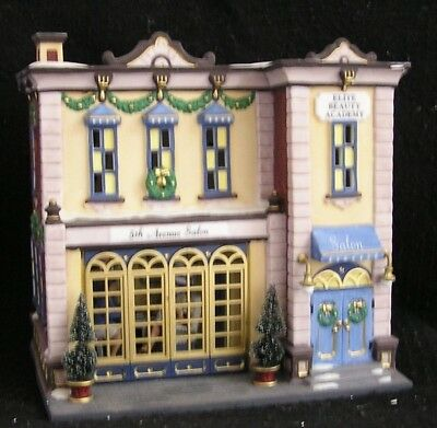 Department 56 Christmas in the City Series 5th Avenue Salon