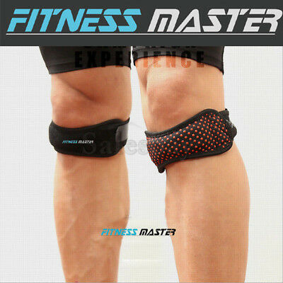 Knee Strap Patella Jumper GEL Runner Tennis Silicone Sports Brace Support Pad