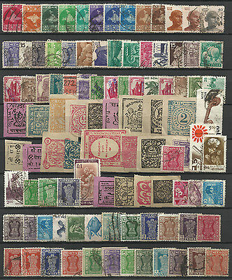 INDIA STAMP COLLECTION  PACKET of 200 DIFFERENT Stamps USED