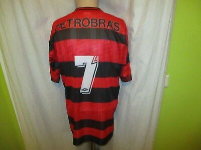 "CR Flamengo Original umbro Heim Trikot 1995/96 ""LUBRAX"" + Nr.7 Gr.L- XL TOP"
