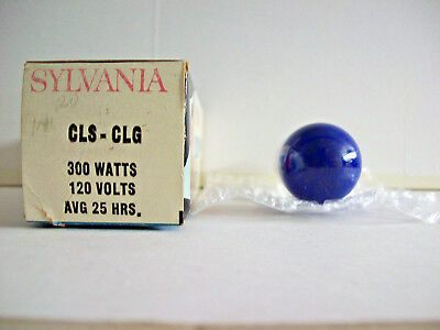 CLS/CLG Projector Projection Lamp Bulb 300W 120V SYLVANIA AVG 25-HR LAMP