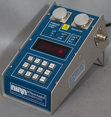 Bird 4391A PEP-Dual Element RF Power Analyst Wattmeter/Watt Meter