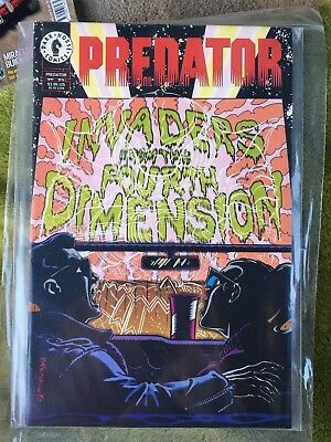 Dark horse comics PREDATOR invaders from fourth dimension MINT BAGGED