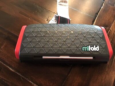 EUC Mifold Grab-and-Go Car Travel Booster Seat