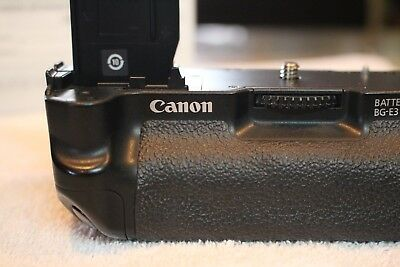 Canon BG-E3 Battery Grip with 2 batteries