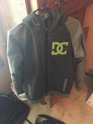 fa1a05d18 DC STORY SNOWBOARD Jacket Grey Youth -  12.00