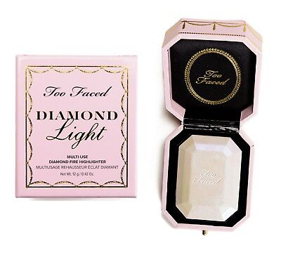 Too Faced Diamond Light Multi-Use Diamond Fire Highlighter - New in Box