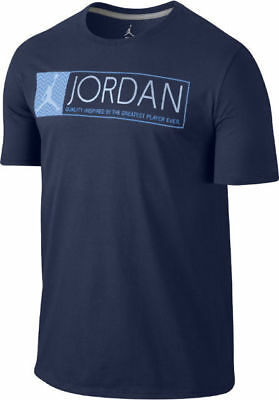 47319205475 AIR JORDAN 12 the greatest T-SHIRT US MENS NAVY SIZES 725013-410 ...