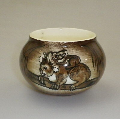 Studio Anna Vase Decorated With A Baby Koala Clinging To Its Mothers Back
