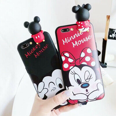 3D Hot Disney Mickey TPU Phone Case Silicone Cover For iPhone X 8 7 6/6S Plus