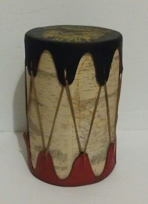 Handmade Adirondack Mountains Cherokees Reservation Indian Tribe Drum