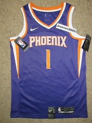 new concept f03d3 af080 NWT Nike Swingman Icon Phoenix Suns Devin Booker  1 Jersey Sz Small   40