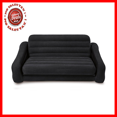 Intex Inflatable Sofa with Pull Out Queen Bed Blow-up Air Couch NEW Free Shippin