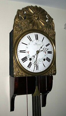 Antique French Comptoire Wall Clock