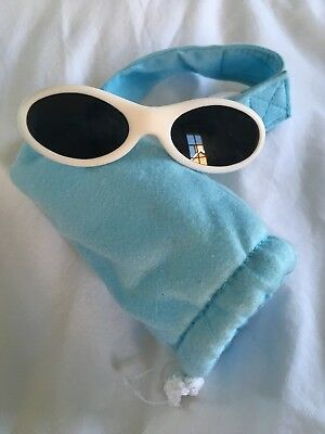 2018116c95e7 BEABA Baby Boys Blue Sunglasses With Adjustable Strap (  Carry Case) Age 0-