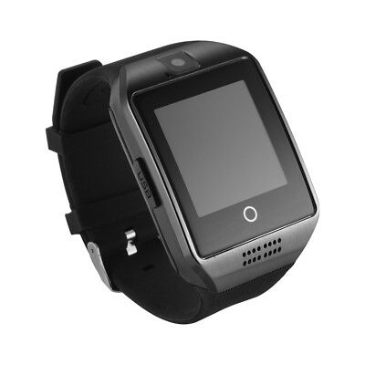 Q18 Bluetooth Smart Watch Phone w/ Camera SIM Slot For Android IOS Phone AC1118