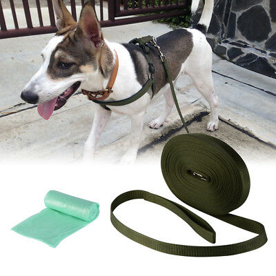Dog Leash Pet Puppy Training Lead Long Collar Traction Obedience Rope 7/10/15m