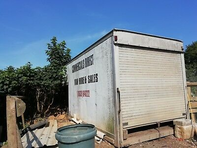 Used Luton  Box   Container