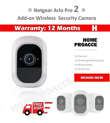 NEW AU NETGEAR VMC4030P Arlo Pro 2 – Add-on Wire-Free Camera