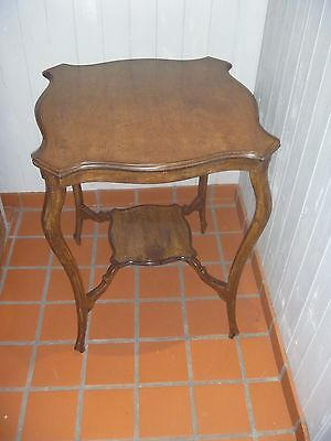 Edwardian Mahogany Side Occasional Table