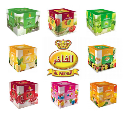 Al Fakher Shisha Flavour 200gr Sheesha Hookah Molasses Tobacco UK 25 Flavours