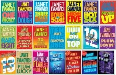 23 AUDIOBOOKS - Stephanie Plum Series by Janet Evanovich Collection Mp3/DVD