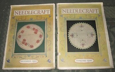 2 December 1919 And February 1920 Publications - Needlecraft