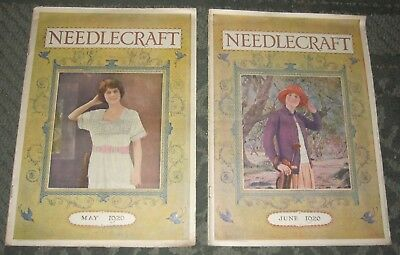 2 May 1920 And June 1920 Publications - Needlecraft