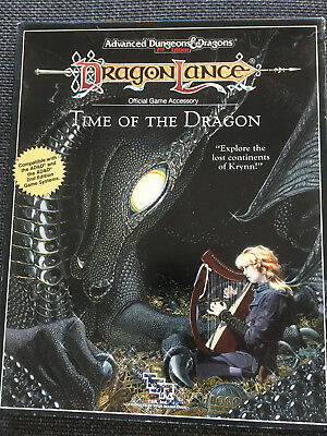 AD&D Dungeons & Dragons - Dragonlance - Time of the Dragon (Box TSR) selten!