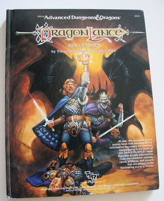 Advanced Dungeons and Dragons Dragonlance Adventures Source Book