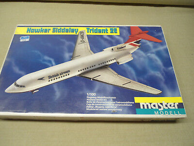 Master Modell Hawker Siddeley Trident 2 E  in 1:100