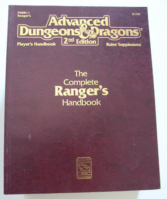 Advanced Dungeons and Dragons - The Complete Ranger's Handbook