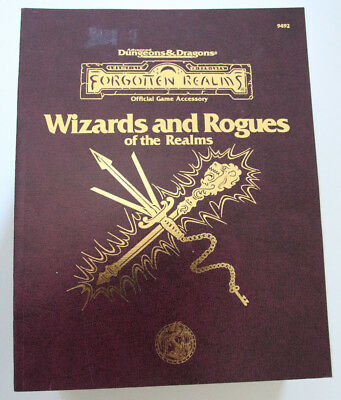 Advanced Dungeons and Dragons - Wizards and Rogues of the Realms