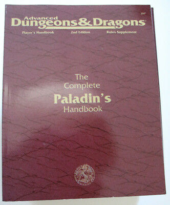 Advanced Dungeons and Dragons - The Complete Paladin's Handbook